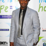 Nelsan Ellis and Rutina Wesley attend Silver Rose Gala And Auction
