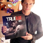 Charity auction of True Blood calendar signed by Stephen Moyer and Anna Paquin
