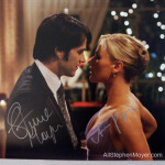 Fans bid furiously on unique calendar with EIGHT autographs of Stephen Moyer and Anna Paquin