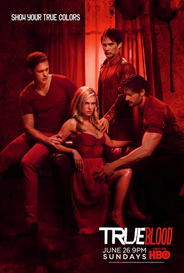 true blood poster season 4. of True Blood Season 4