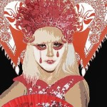 Suzuki Ingerslev creates Chinese Opera design for Lady Gaga