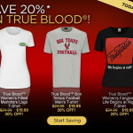 Only Today 20% Discount on True Blood Best Sellers