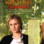 True Blood featured in US Magazine