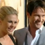 Anna Paquin and Stephen Moyer at the True Blood Season 4 Premiere