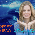 Kristin Bauer works with The Vault for her favorite charity IFAW