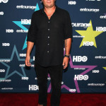 Chris Bauer at Entourage Premiere and Aaron Perilo at HTC Social