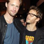 Alexander Skarsgård and Ryan Kwanten party at the Hard Rock Hotel