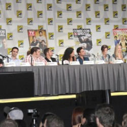 Kristin Bauer and Nelsan Ellis at TV Guide: Fan Favorites Panel