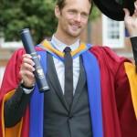 Alexander Skarsgård receives Honorary Doctorate from Leeds University