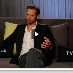 Alexander Skarsgård Discusses the Eric-Sookie True Blood Tango