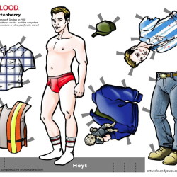 Hoyt Paperdoll added to the Swist Paperdoll Collection