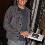 Photos of Stephen Moyer at taping of Regis & Kelly