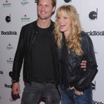 Alexander Skarsgård, Kristin Bauer & husband Abri at Blackbook Event
