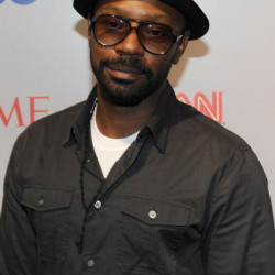 Nelsan Ellis attends Time Warner's 'Beyond 9/11' Photo Exhibit