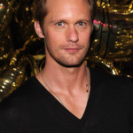 Alexander Skarsgård at the Mulberry 40th Anniversary celebration