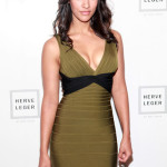 Pics and Video of Janina Gavankar at Fashion Week