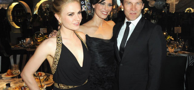 Anna Paquin and Stephen Moyer Attend The Emmy Governor's Ball