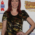 Carrie Preston attends the 25th annual Broadway Flea Market