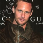 Alexander Skarsgård Autographed Photos for Auction on eBay