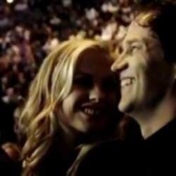 Anna Paquin and Stephen Moyer at the Fights