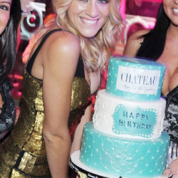 Brit Morgan celebrated her birthday in Las Vegas