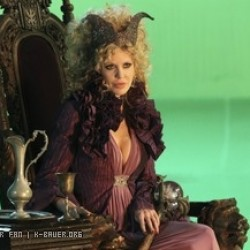 Kristin Bauer's Maleficent to get spectacular new headpiece