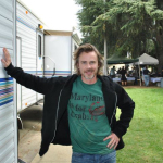 Fan Meeting with Sam Trammell on the set of 'Light of Mine'
