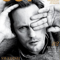 Alexander Skarsgard vs. Jonas Åkerlund in OUT Magazine