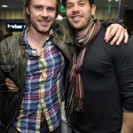 Sam Trammell and Kevin Alejandro attend The Art of Shaving