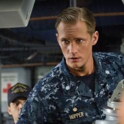 Photos and Video of Alexander Skarsgård in 'Battleship'