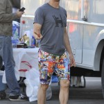 Ryan Kwanten Races on the Beach for a Fashion Shoot