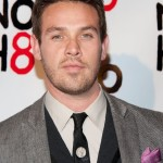 Kevin Alejandro at NOH8 and G-Star Rodeo Drive Store Opening