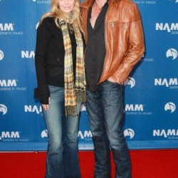 Kristin Bauer and Abri van Straten Attend the `110th NAMM Show