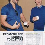 Joe Manganiello Co-Stars with College Buddy Matt Bomer