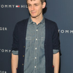 Giles Matthey attends Tommy Hilfiger Men Fall Fashion Show