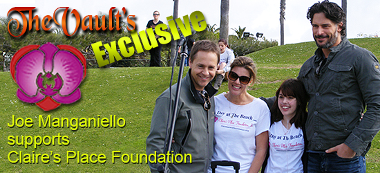 Vault Exclusive: Joe Manganiello Spends 'A Day At the Beach' for Claire's Place Foundation
