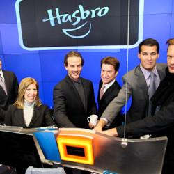 Alexander Skarsgård Rings The Bell at NASDAQ