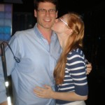 Deborah Ann Woll and E.J. Scott clean house for online garage sale