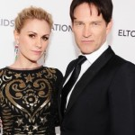 Stephen Moyer and Anna Paquin At Elton John After Oscar Party