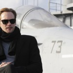 Alexander Skarsgård for Battleship on USS George Washington in Japan
