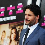 Actor Joe Manganiello arrives for the pr