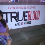 Chloe Noelle Finds True Blood Promotion in North Hollywood