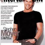 Stephen Moyer Covers Canada's Movie Entertainment Magazine