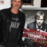 Sam Trammell Chats Prior to Hosting Party in Las Vegas