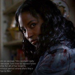 Rutina Wesley, Nelsan Ellis and Alan Ball give their view on Tara's turning