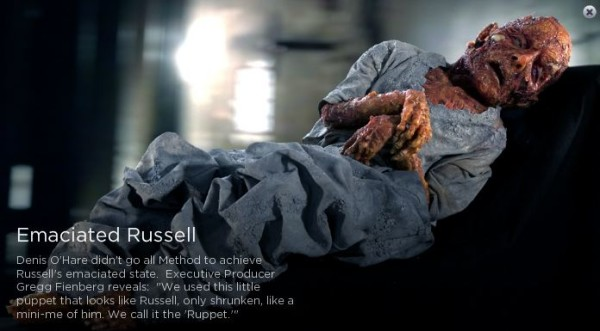 505emaciated russell 600x331 Denis OHare excited about his return to True Blood
