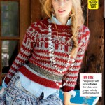 Deborah Ann Woll Displays Her Hippy Side in Self Magazine