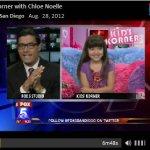 """Chloe Noelle Talks to Fox 5 on their """"Kids Corner"""""""