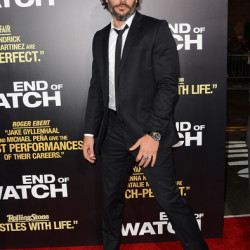 Joe Manganiello attends premiere of 'End of Watch'
