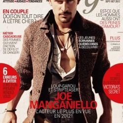 "Joe Manganiello on the cover of France's ""Summun Girl"" Magazine"